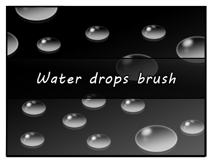 Water drop brush by Faeth-design