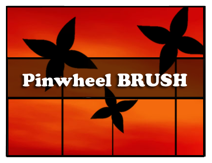 Pinwheel Brush by Faeth-design