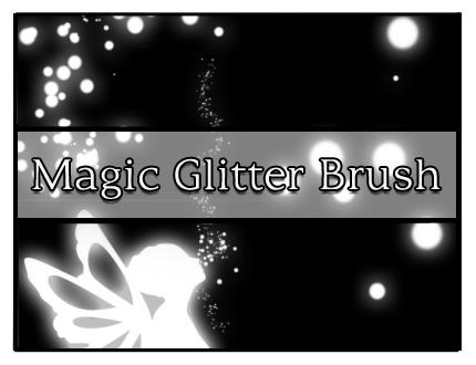 Magic Glitter Brush by Faeth-design