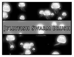 Jellyfish Swarm by Faeth-design