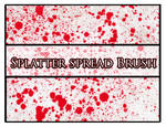 Splatter spread Brush