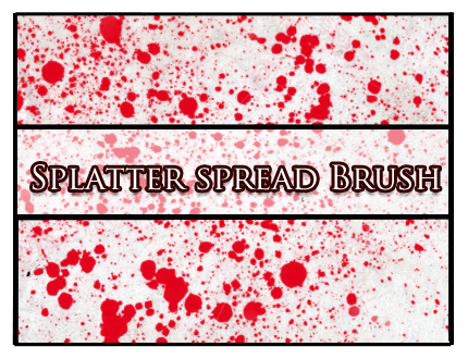 Splatter spread Brush by Faeth-design