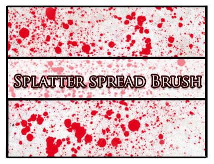 Splatter spread Brush by Faeth-design