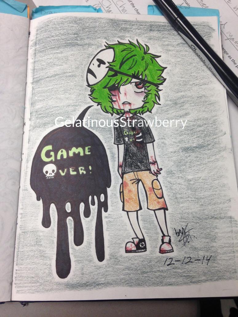 Crescendo the Zombie Boy by GelatinousStrawberry