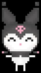jumping kuromi pixel [F2U]
