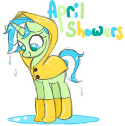 Pony Auction - April Showers by JaneGumball