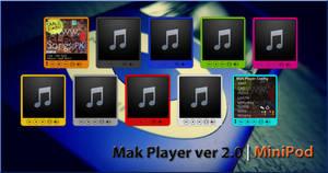 Mak Player MiniPod 2.0 by rahul-k-mak
