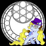 MLP Stained Glass Coloring Book