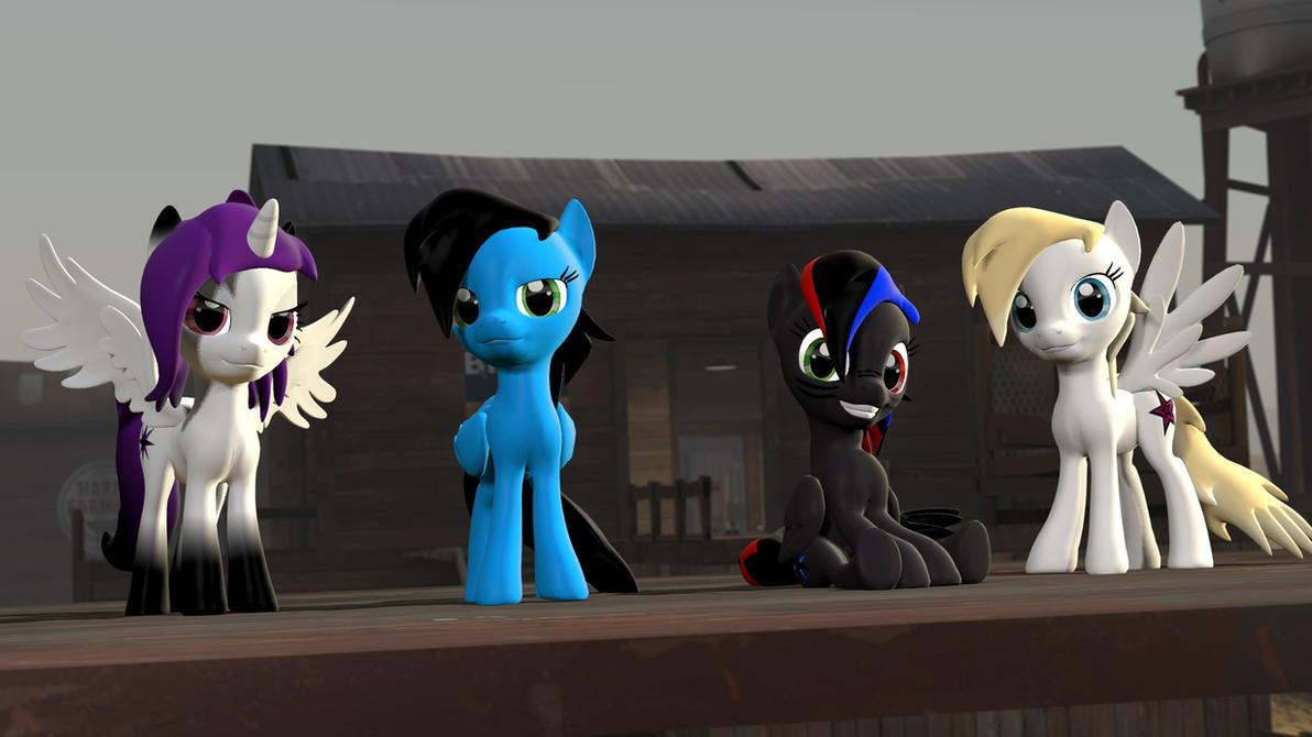 [DL] Narox Ponies by Narox22