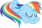 Dashie loves her naps, now animated