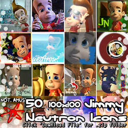50 Jimmy Neutron Icons (.zip pack) by Absurd--Reality