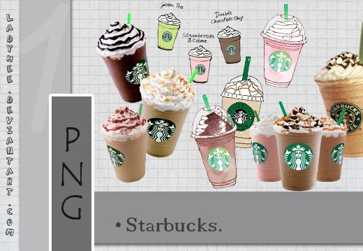 {PNG} Starbucks~ by LadyHee