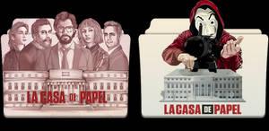 La Casa De Papel Folder Icons