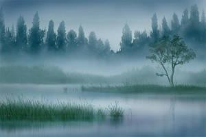 My first tutorial - landscape by jezebel