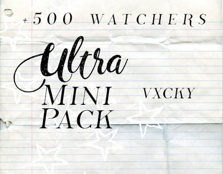 +500 watcher resources pack