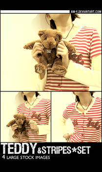 Stock - Teddy And Stripes Set