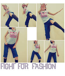 Stock - Fight For Fashion by am-y