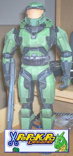 Halo Master Chief PePaKuRaFile