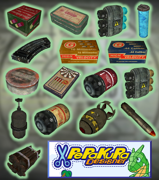 Fallout 3 Ammo PDOs by billybob884