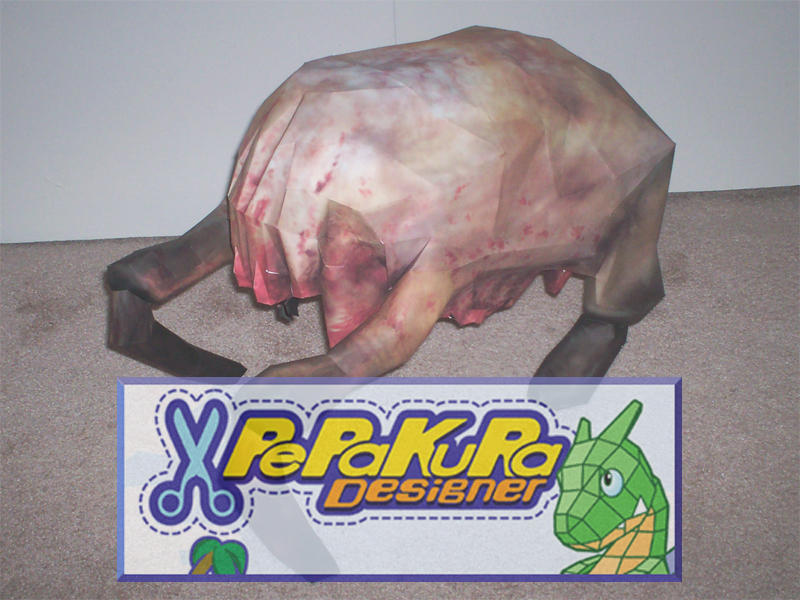 Headcrab Mask PePaKuRa Files by billybob884