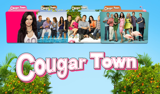 Cougar Town Wallpaper Cougar Town Folder Icon by