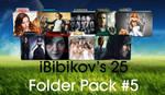 iBibikov's 25 Folder Icon Pack #5
