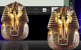Tutankhamun's Death Mask Icon by darkelvenbard