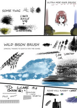 Chazzvc Manga studios 5 Brushes Beta Set 1