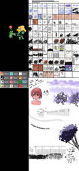 ULTIMATE CLIP STUDIO PAINT BRUSH COLLECTION 127 by ChazzVC