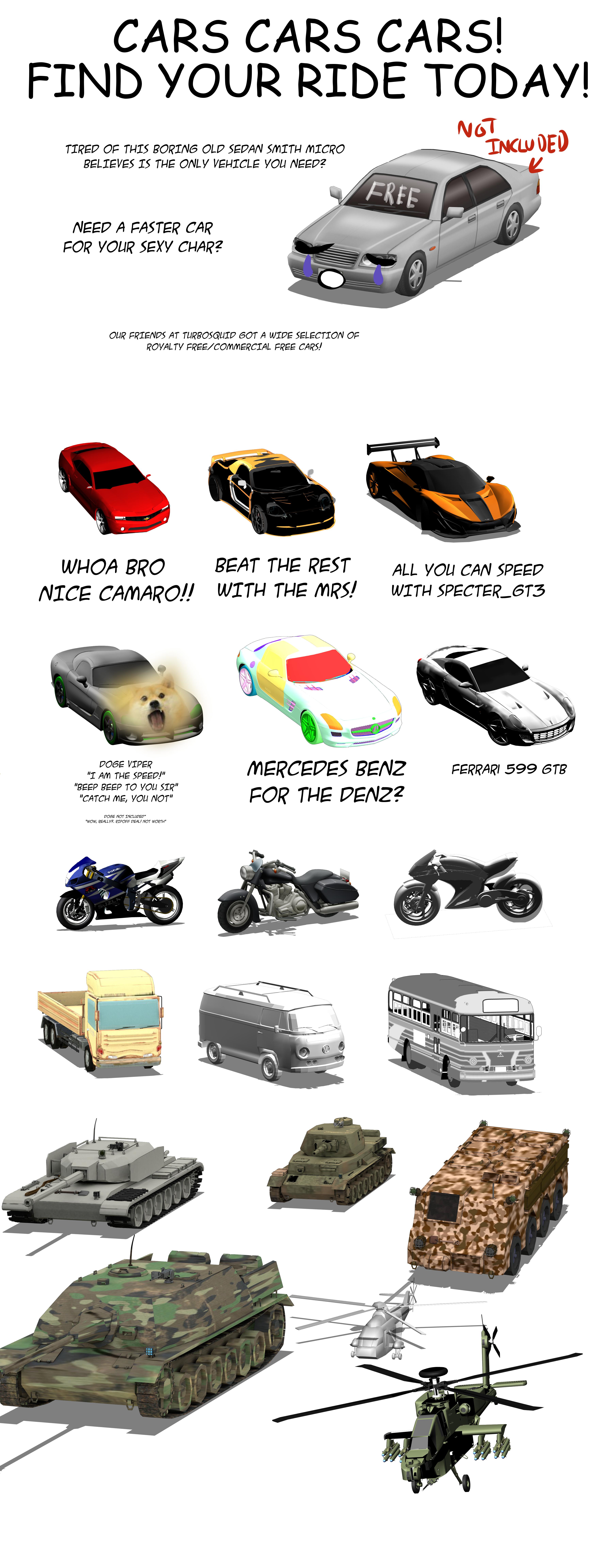 3D Vehicles for clip studio paint (18)