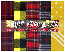 scarf textures by cloudhiddensky