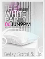 white party poster by davidzamoradesign