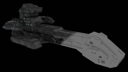 303-class battlecruiser  [3D Model download]