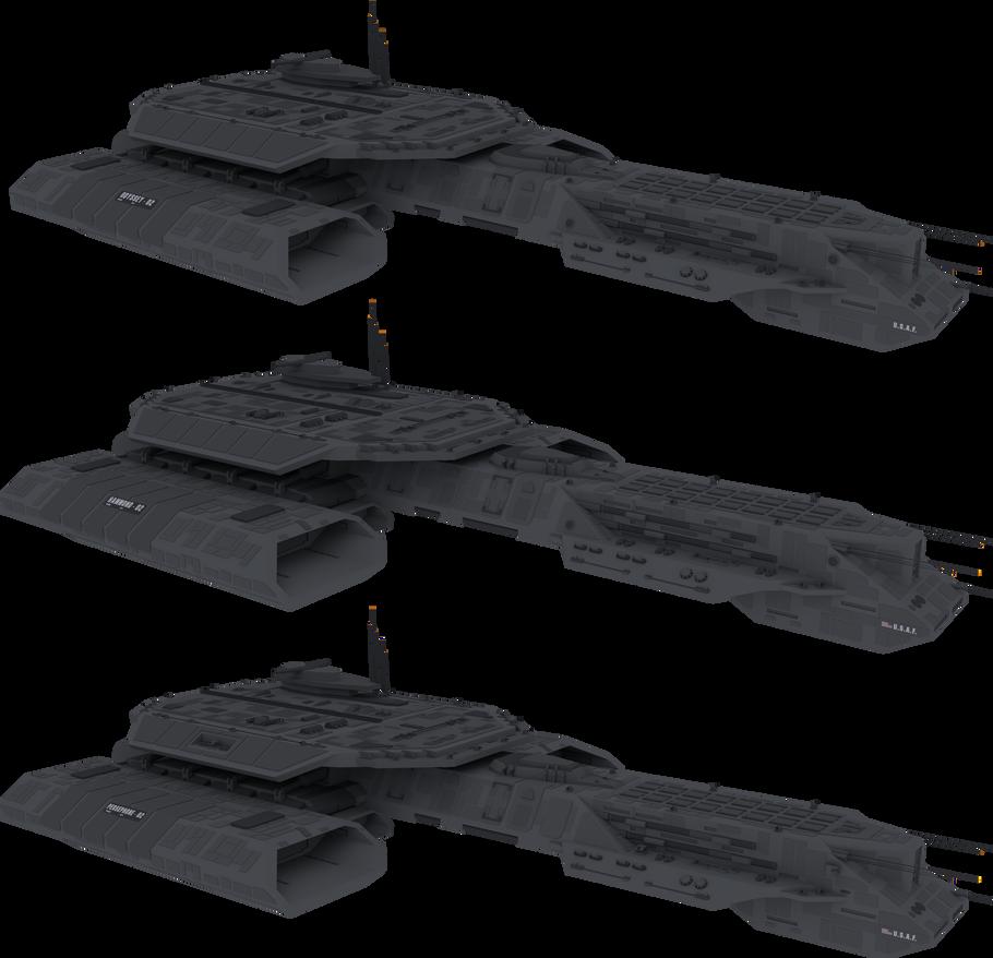 304-class battlecruiser [3D Model download] by NepsterCZ