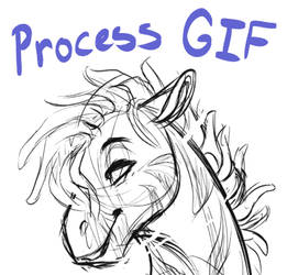 Buck/Radhi Process GIF by Lopoddity
