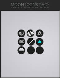 Moon icons pack