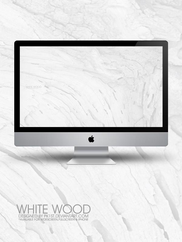 White Wood Wallpaper Pack by pk1st