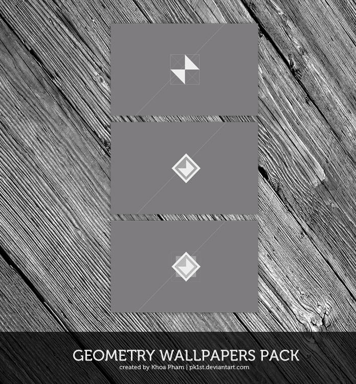 Geometry Wallpapers Pack by pk1st