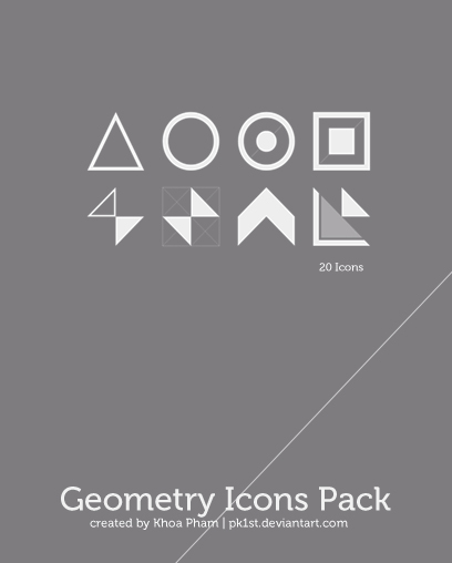 Geometry Icons Pack