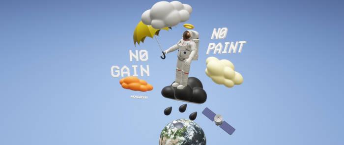 NO PAINT NO GAIN