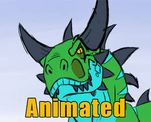 Animation Practice: Unamused Glare