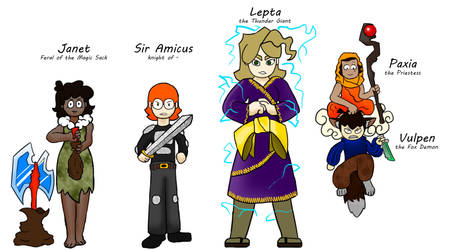 If the VIPER cast were DnD Characters by DeviantSidJV