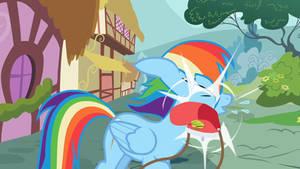 Rainbow Smack by RenaissanceBrony