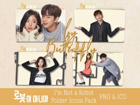 K-Drama I'm Not a Robot Folder Icons Pack