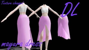 [MMD]Mayura Dress DL