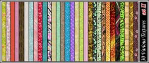 30 Various textures set II
