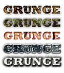 five grunge styles