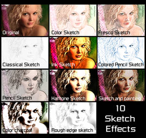 10 sketch effects