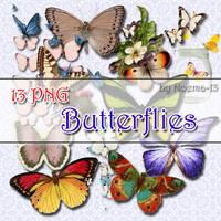 13 PNG - Butterflies by noema-13