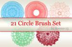 21 Circle Brush Set